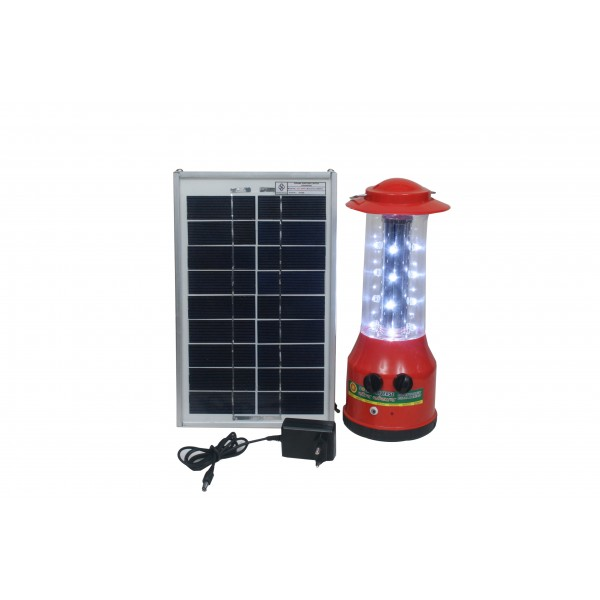 Solar LED Lamp With Multi Step Lighting
