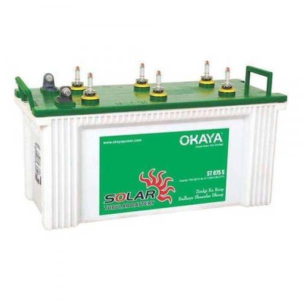 Okaya Solar 75 Ah Tubular Battery