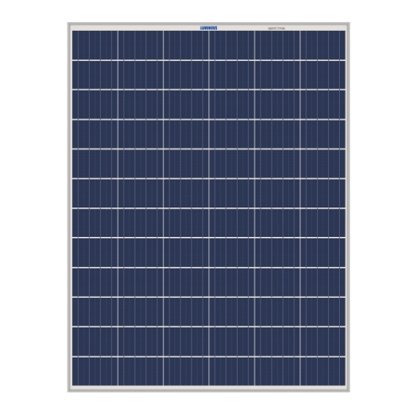 Luminous 325 watt,72 cells Polycrystalline Solar Panels