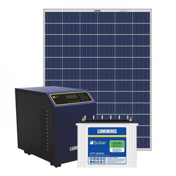 Luminous 7 kwatt off-Grid Solar Power System