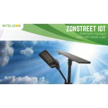 15 watt Intelizon Zonstreet Li3 Solar LED Street Lights with GSM/Wifi
