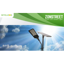 9 watt Intelizon Zonstreet Solar LED Street Lights
