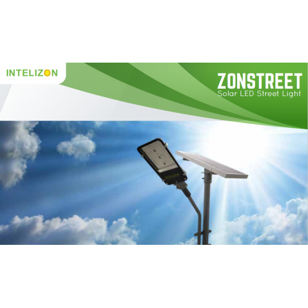 30 watt Intelizon Zonstreet Solar LED Street Lights