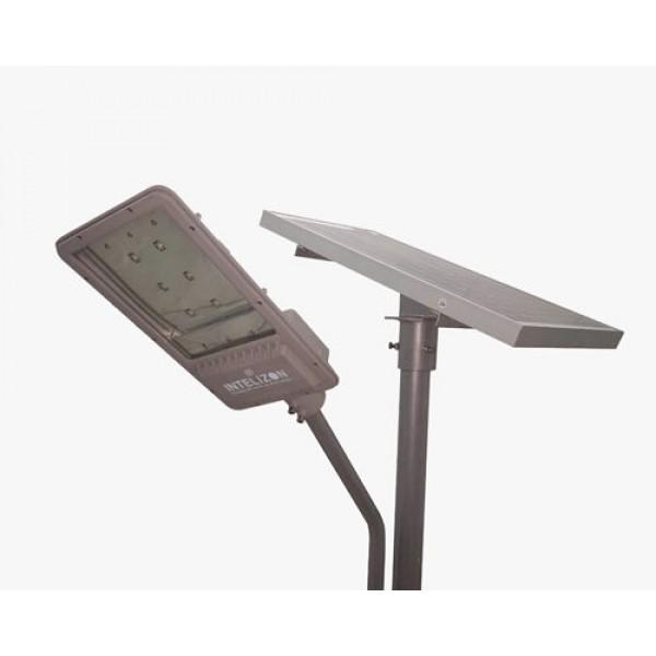 50 watt Intelizon Zonstreet Li+ Solar LED Street Lights with Motion Sensor