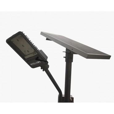 15 watt Intelizon Zonstreet Li3 Solar LED Street Lights with GSM/Wifi