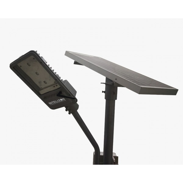 30 watt Intelizon Zonstreet Li4 Solar LED Street Lights with GSM/Wifi/Hotspot