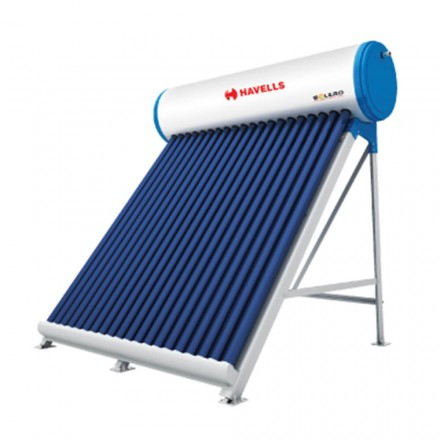 100 LPD ETC Havells Solero Solar Water Heater