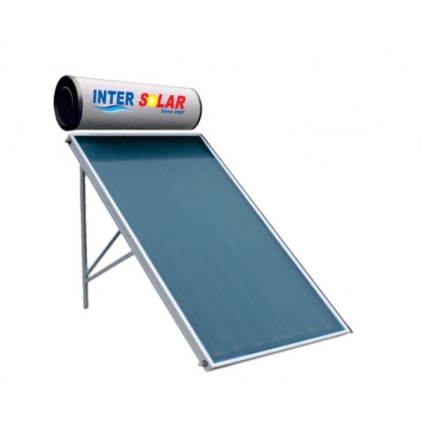 100 LPD FPC Pressurized Inter Solar Water Heater