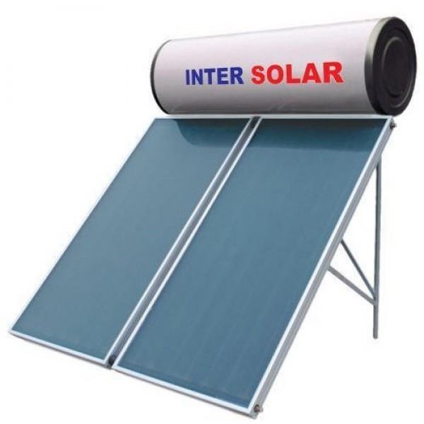 200 LPD FPC Non-Pressurized Inter Solar Water Heater
