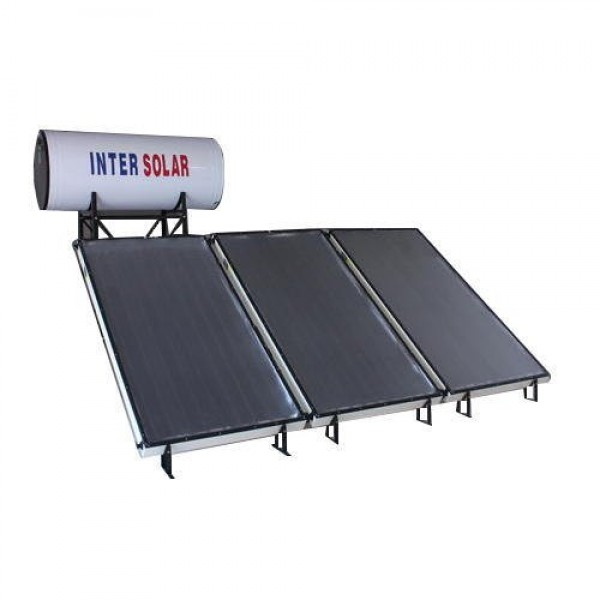 300 LPD FPC Non-Pressurized Inter Solar Water Heater