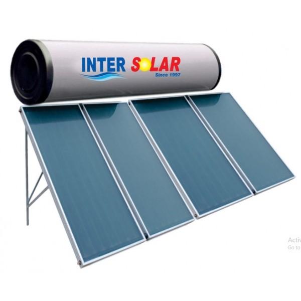 500 LPD FPC Non-Pressurized Inter Solar Water Heater
