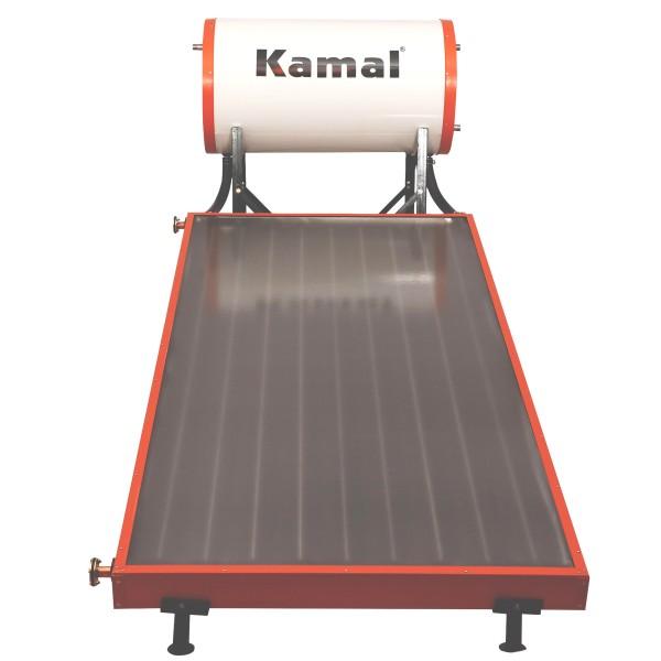 100 LPD FPC Kamal Solar Non-Pressure Solar Water Heater