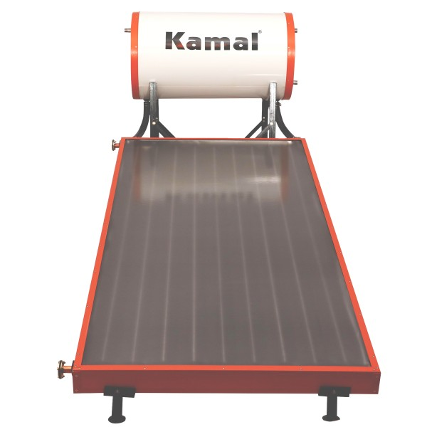150 LPD FPC Kamal Solar Non-Pressure Solar Water Heater