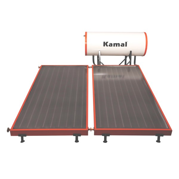 200 LPD FPC Kamal Solar Non-Pressure Solar Water Heater