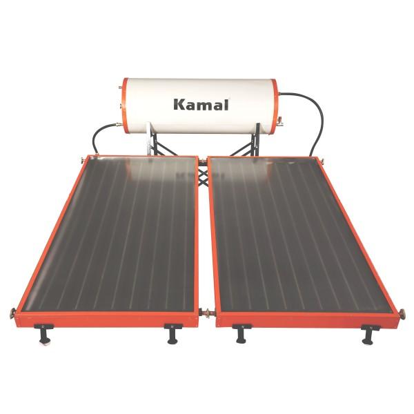 200 LPD FPC Kamal Solar Pressurized Solar Water Heater