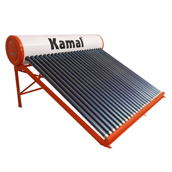 300 LPD ETC Kamal Solar Water Heater with Copper Tank