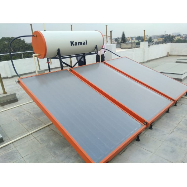 500 LPD FPC Kamal Solar Non-Pressure Solar Water Heater