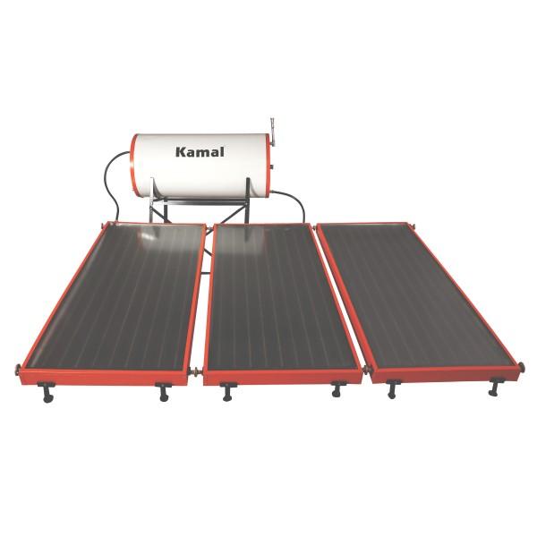 300 LPD FPC Kamal Solar Pressurized Solar Water Heater