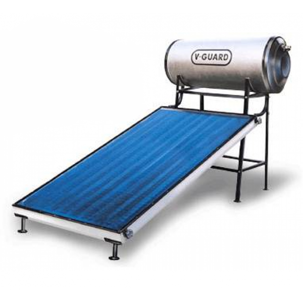 100 LPD FPC Pressure V-Guard Solar Water Heater