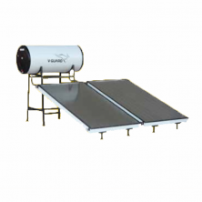 200 LPD FPC Pressurized V-Guard Solar Water Heater