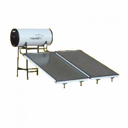 200 LPD FPC Non-Pressure V-Guard Solar Water Heater