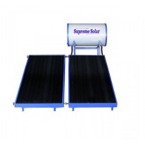 250 LPD Normal Pressure FPC Supreme Solar Water Heater with (2 x 1)m panel size