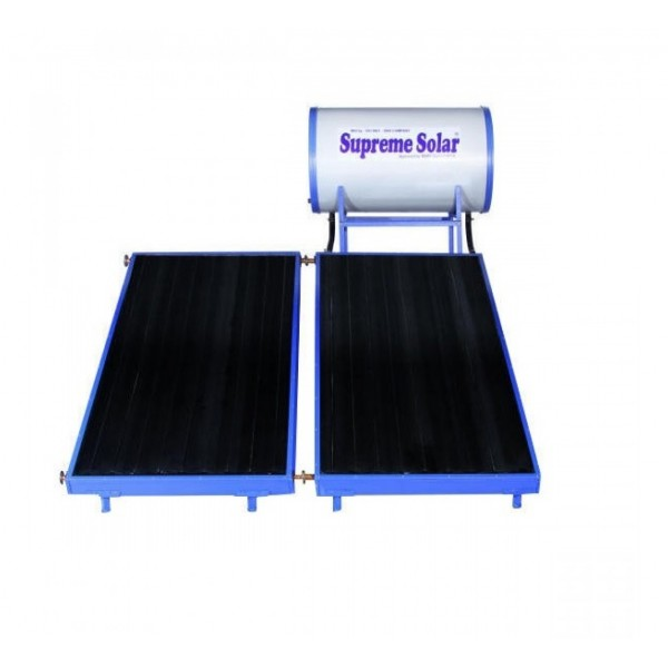 200 LPD High Pressure FPC Supreme Solar Water Heater with (2 x 1)m panel size
