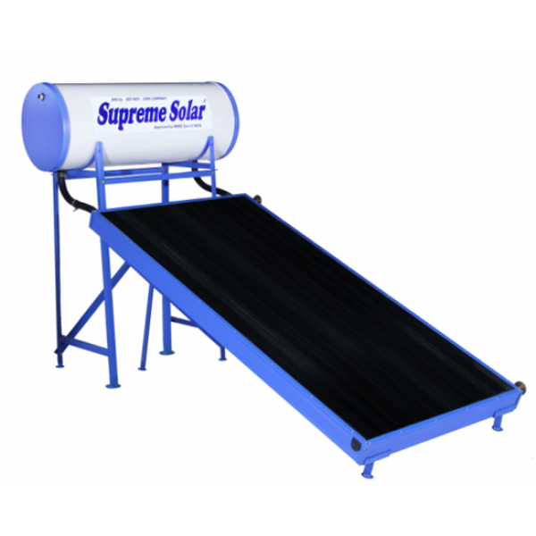 100 LPD Normal Pressure FPC Supreme Solar Water Heater with (1.66 x 0.96) m panel size