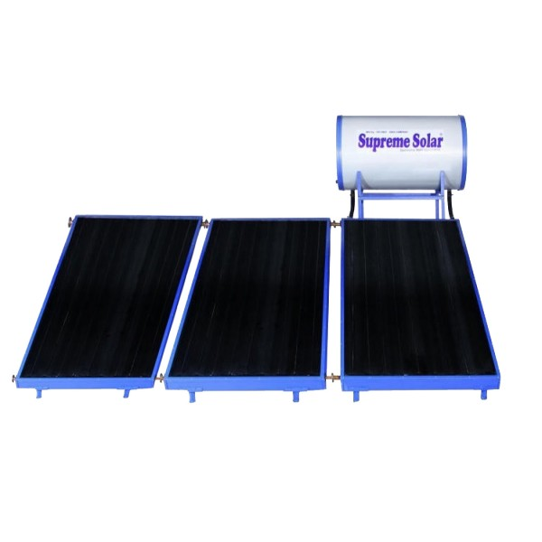 300 LPD Normal Pressure FPC Supreme Solar Water Heater with (2 x 1) m panel size